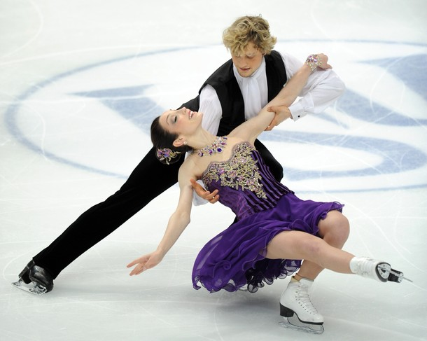 US Meryl Davis and Charlie White  perfor