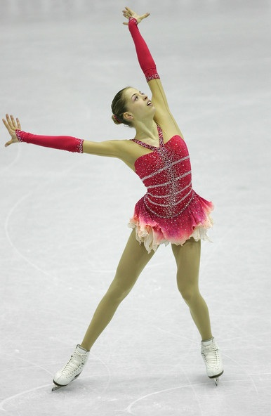 Carolina Kostner's free skate to Tchaikovsky's Swan Lake and Dvorak's Dumky Trio at the 2008 Grand Prix Final.
