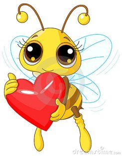 cute-bee-holding-love-heart-thumb17683570