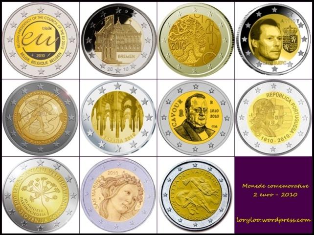 Monede comemorative 2 euro 2010