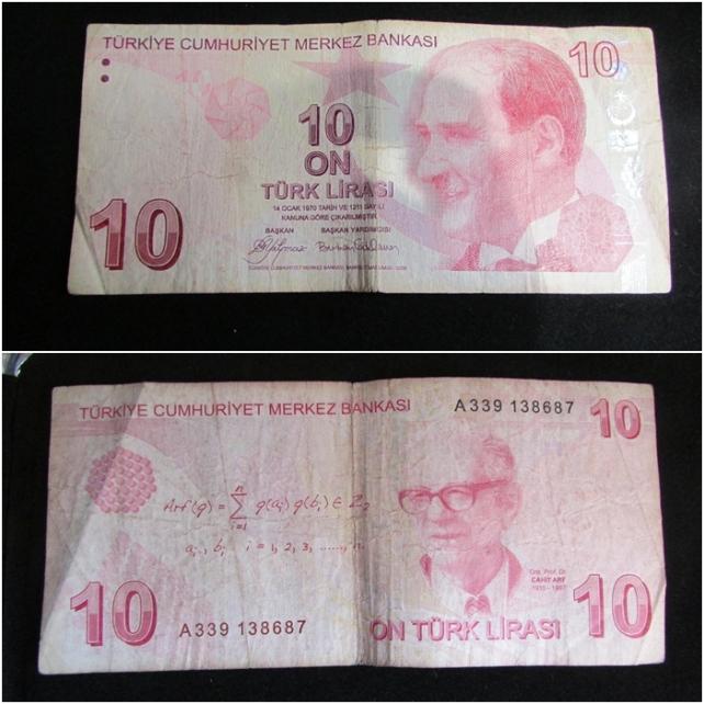 turcia 10 lire