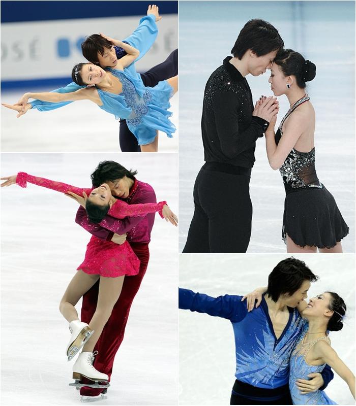 patinatorii pereche olimpică dating