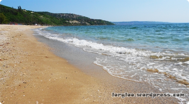 Albena Beach. Bulgary